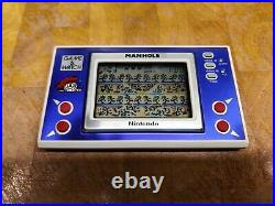 1983 MANHOLE Nintendo game and watch NH-103 boxed