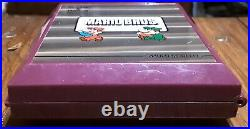 1983 Nintendo Game and Watch Mario Bros Brothers Multi/Dual Screen Tested