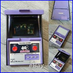 1984 Nintendo Game & Watch Mickey Mouse Panorama Screen WALT DISNEY DC 95