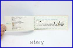 1986 Game & Watch CRYSTAL SCREEN SUPER MARIO BROS. Nintendo YM-801 USED Rare