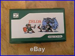 1989 Zelda NINTENDO GAME AND WATCH ZL-65 Super Rare
