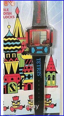 1991 Nintendo Tetris Game Watch Brand New And Sealed Super Rare