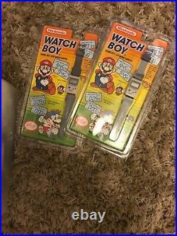 1993 Nintendo Watch Boy Game Boy LCD Wrist-Watch NIP Game watch