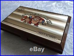 Boxed Nintendo Donkey Kong 2 Jr-55 Game & Watch 1983 Mint Condition