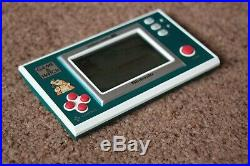 Boxed Nintendo Game And Watch Donkey Kong Jr Dj-101 1982 Great Condition