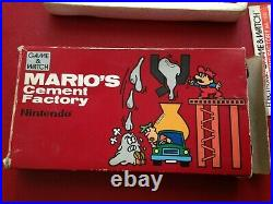 Boxed Nintendo Game & Watch Mario's Cement Factory