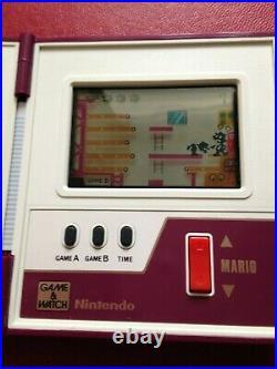 Boxed Nintendo Game & Watch Multi Screen Mario Bros