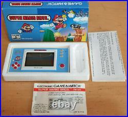 Boxed Vintage Nintendo Super Mario Bros Game & Watch YM-105