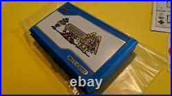 Brand New NOS Nintendo Gold Cliff Multi Screen Goldcliff Game & Watch