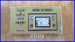 CHEF FP-24 Super rare! 1981 NINTENDO GAME AND WATCH