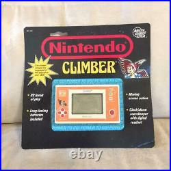 CLIMBER NOS and watch sealed new stock Micro Games USA Nintendo