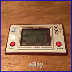 Chef Game Watch Nintendo 1480071470011981 From Japan Tested and works well Used