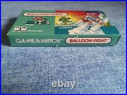 Console Nintendo Game & Watch Ballon Fight 1988 PAL FR Very Rare