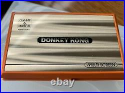 DK-52 Nintendo Game&Watch Donkey Kong Boxed Excellent condition