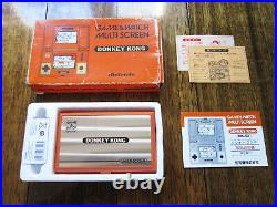 Donkey Kong (DK-52) Nintendo Game & Watch in Excellent Condition