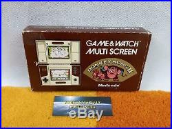 Donkey Kong II 2 Multi Screen Nintendo Game & Watch +Originalverpackung Anlei