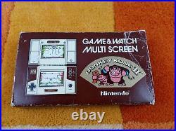 Donkey Kong II Multi Screen Nintendo Game & Watch + Originalverpoackung + Anlei