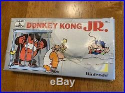 Donkey Kong JR Game and & Watch Nintendo Handheld CIB COMPLETE Box Rare SEE PICS