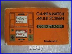 Donkey Kong Nintendo 1982 Game and Watch. Multi screen