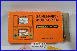 Donkey Kong Nintendo Game & Watch Game (DK-52) With Box and Manual