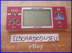 Eldoradodujeu Game & Watch Nintendo Crystal Screen Climber Pas De Cache Pile