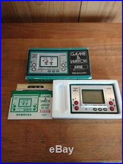 F/S Nintendo Game Watch Judge with GREEN box instructions
