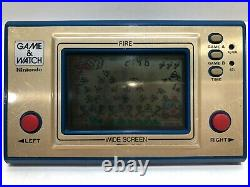 Fire + Turtle Bridge Nintendo Game and & Watch Widescreen Working