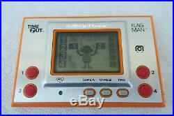 Flagman Time Out Mego Rare Nintendo Game And Watch Clone Flag Man Low Serial No