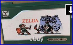 GAME & WATCH ZELDA Multi Screen Nintendo new DEAD STOCK VINTAGE