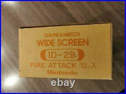 Game & Watch Fire Attack Shipper very rare