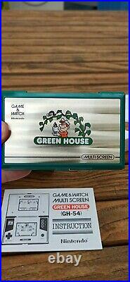 Game & Watch Green House complet