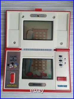 Game Watch Mickey Donald Nintendo Multi Screen Dm-53