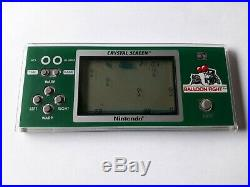 Game Watch Nintendo Crystal Screen Balloon Fight Very Good Condition