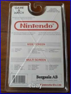 Game Watch Nintendo Mario The Juggler Blister Bergsala Ultra Rare