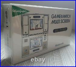Game Watch Oil Panic Nintendo Multi Screen Op-51