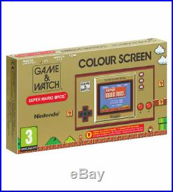 Game & Watch Super Mario Bros 35th Anniversary New LIMITED EDITION 13/11/2020