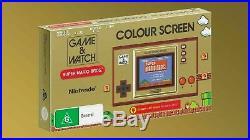 Game & Watch Super Mario Bros Nintendo 35th Anniversary PAL AUS
