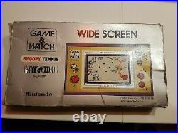 Game & Watch snoopy tennis Multi Screen Nintendo