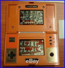 Game watch nintendo DONKEY KONG DK-52 pocketsize