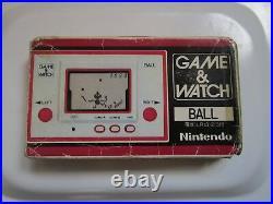 Game watch nintendo ball rare original