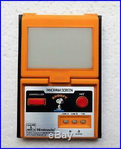 Gioco Elettronico Nintendo Game & Watch SNOOPY Panorama Screen SM-91 Vintage