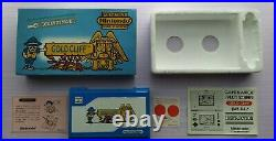 Gold Cliff Nintendo Game & Watch Complete in box Near mint