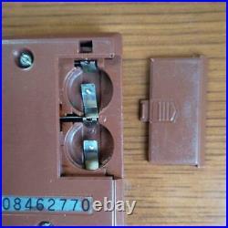 Good Condition! MANHOLE Nintendo Game Watch Operation OK! JPN LTD Rare Used