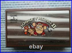 Jeu Donkey Kong 2 Game & Watch Nintendo Multi screen JR-55 Authentic LCD CIB