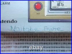 Jeu Snoopy Tennis Game & Watch Nintendo Wide screen Authentic ST-30 original LCD