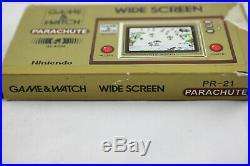 Jeu électronique GAME & WATCH PARACHUTE complet boite + notice