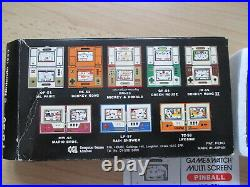 Jeu électronique vintage NINTENDO Game & Watch Pinball neuf en boite RARE