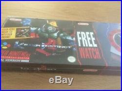 Killer Instinct Watch Big Box Sealed New Neu Unbespielt Super Nintendo SNES OVP