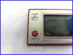 LCD OCTOPUS Game Watch OC-22 Tested Nintendo JAPAN Ref 1649 Free Ship