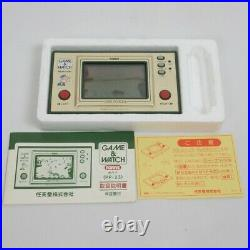LCD POPEYE Game Watch Console System PP-23 Boxed Nintendo Tested JAPAN Ref 0901